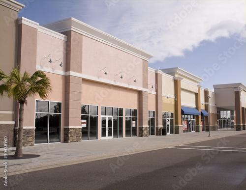 Fotografía  pastel storefront mall