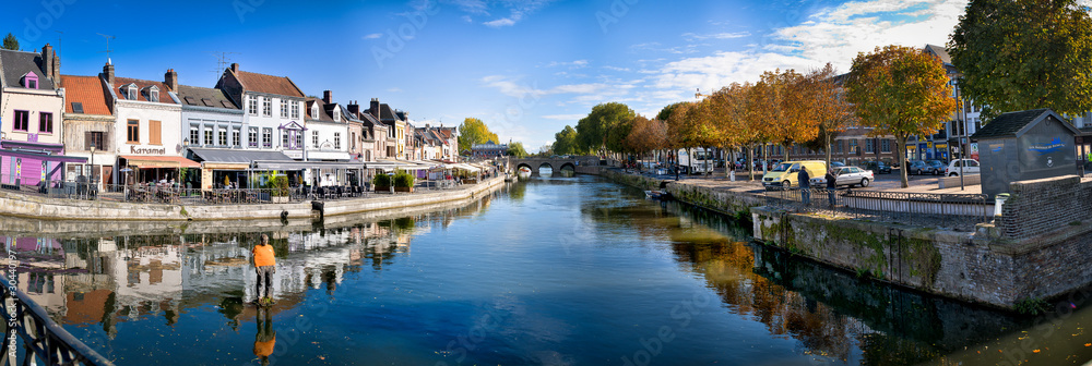 Fototapety, obrazy: Amiens centre ville HDR