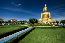 Beautiful Golden Big Buddha.