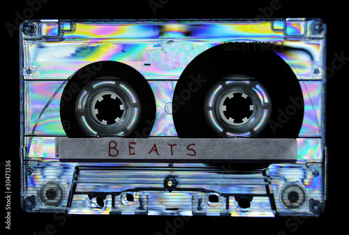 Photo Photoelasticity birefringence cassette tape