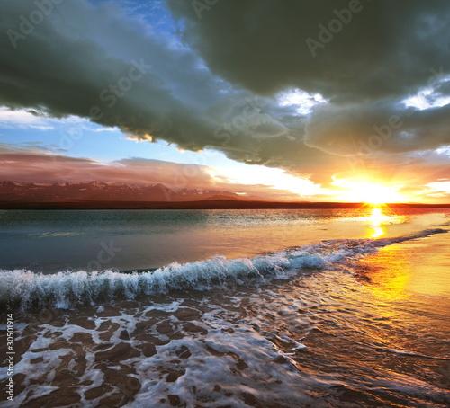 Sea sunset - 30501914