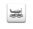 Boton cuadrado blanco hidroavion