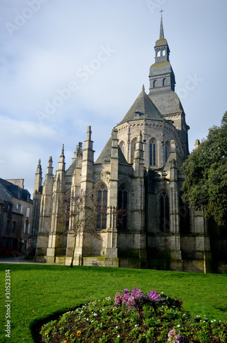 Fotografie, Tablou  L'église de Dinan