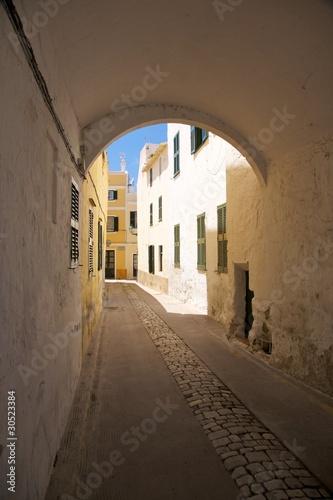 Fototapeta arch in Ciutadella obraz na płótnie