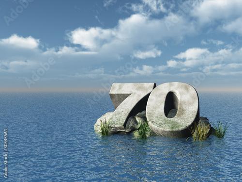 Photographie  siebzig monument