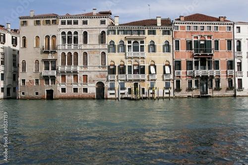 Fotografie, Obraz  Canal Grande - Veduta palazzi