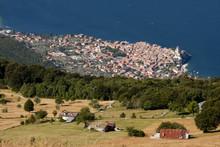 Monte Baldo, Lago Di Garda E Malcesine Dal Crinale