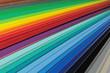 canvas print picture - Farbfächer