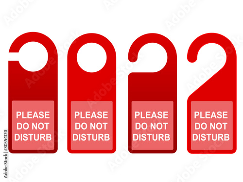 Do Not Disturb Sign Template