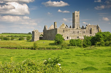 Scenic Ancient Irish Castle In...
