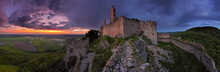 Haunted Castle - Ruins Of Plavecky Castle