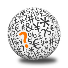 Word Ball - Question Mark