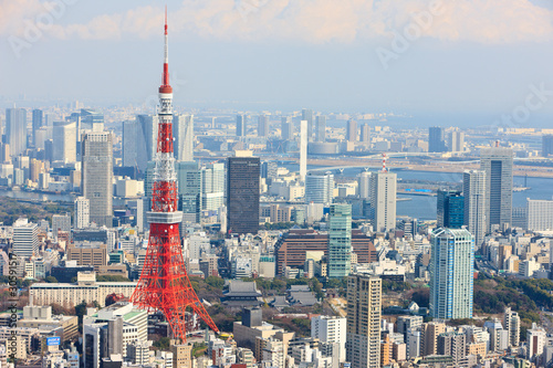 Staande foto Tokyo 観光都市東京の景観