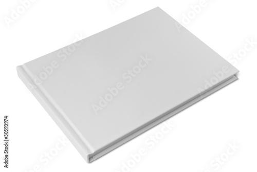 Fototapeta  Closed blank hardcover book