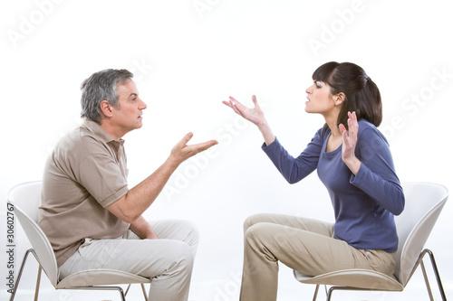 Photo Couple arguing