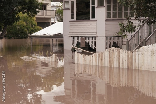 Fotografie, Obraz  Flood  Brisbane