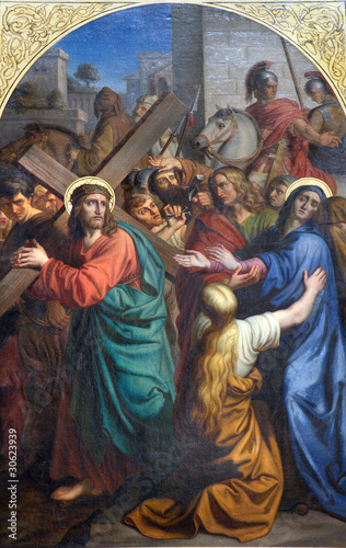 praga-jezus-pod-krzyzem-i-jego-matka