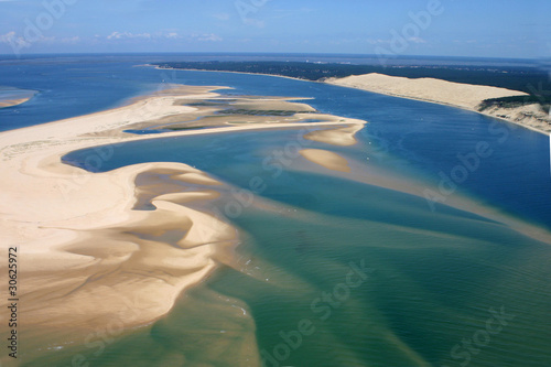 Photo Les passes du bassin d'Arcachon