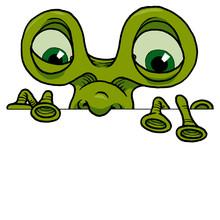 Edge Monster - Bug-eyed Alien