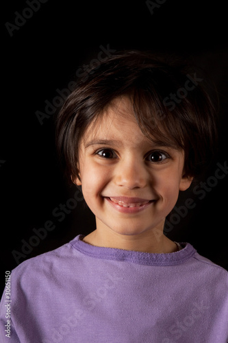 Viso Di Bambina Sorridente Buy This Stock Photo And Explore
