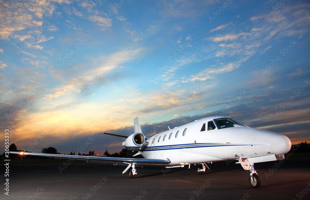 Fototapety, obrazy: Private jet