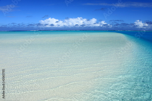 Fotografie, Obraz  One Foot Island