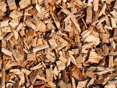 wood chips texture Canvas-taulu