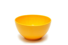A Bowl Of Yellow Color