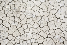Texture Of Dry Cracked Soil