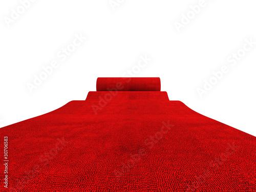 Carta da parati rolling red carpet