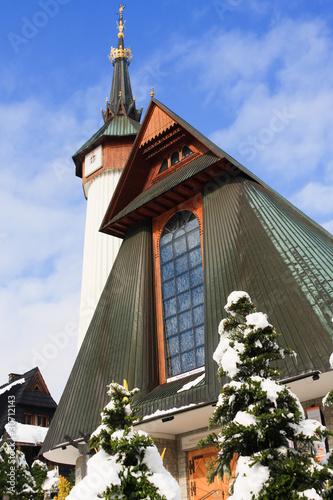 Church in Zakopane, Poland