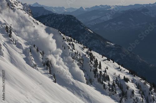 Stampa su Tela avalanches 8