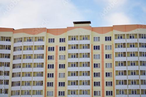 Photo Apartments with balconies, glazed loggia