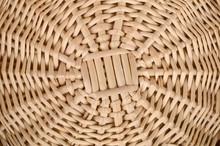 Weave Wicker Basket