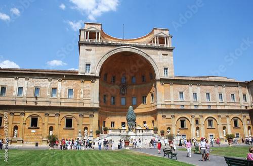 Montage in der Fensternische Buenos Aires Musei Vaticani