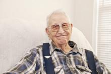 Elderly Man Smiling