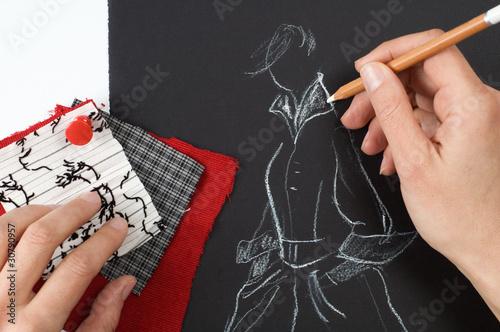 Fashion designer Canvas Print