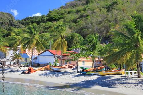 Foto op Plexiglas Caraïben Plage de pêcheurs - Martinique