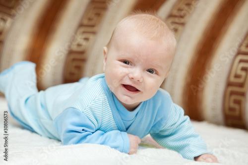 Fototapeta Sweet baby boy obraz na płótnie