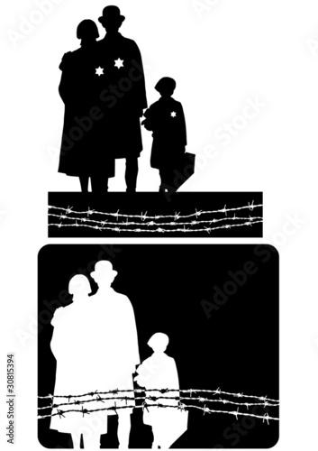 Obraz na plátne holocaust