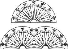 Wrought Iron Grill
