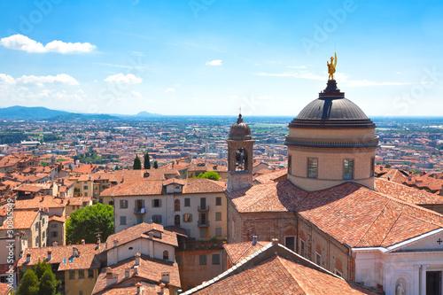 Photo  View of Bergamo, Italy