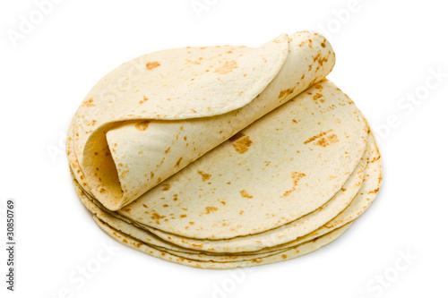 Fotografie, Obraz  flour tortillas