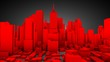 canvas print picture - city concept