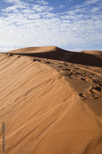 Poster de jardin Desert de sable Moroccan desert dune, merzouga
