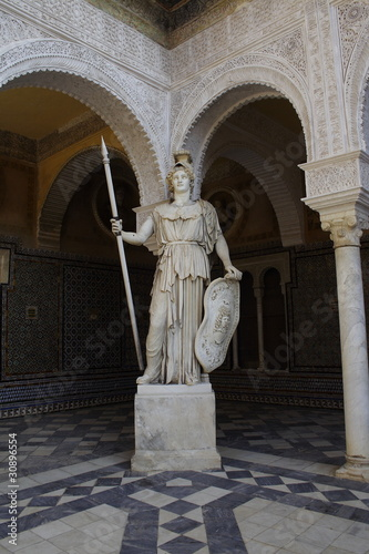 Obraz na płótnie Sevilla, house of Pilato