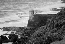 Watchtower And Waves