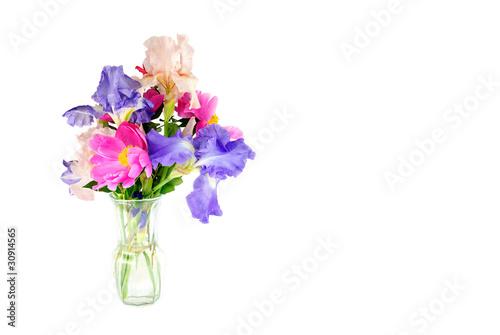 Fotografie, Obraz  Spring Flowers In A Vase