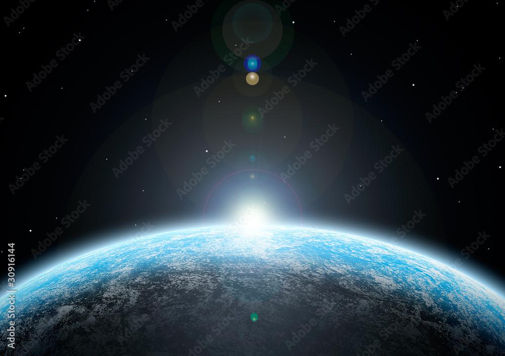 Fototapeta 惑星03