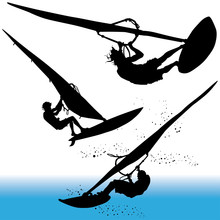 Windsurfing, Surfing